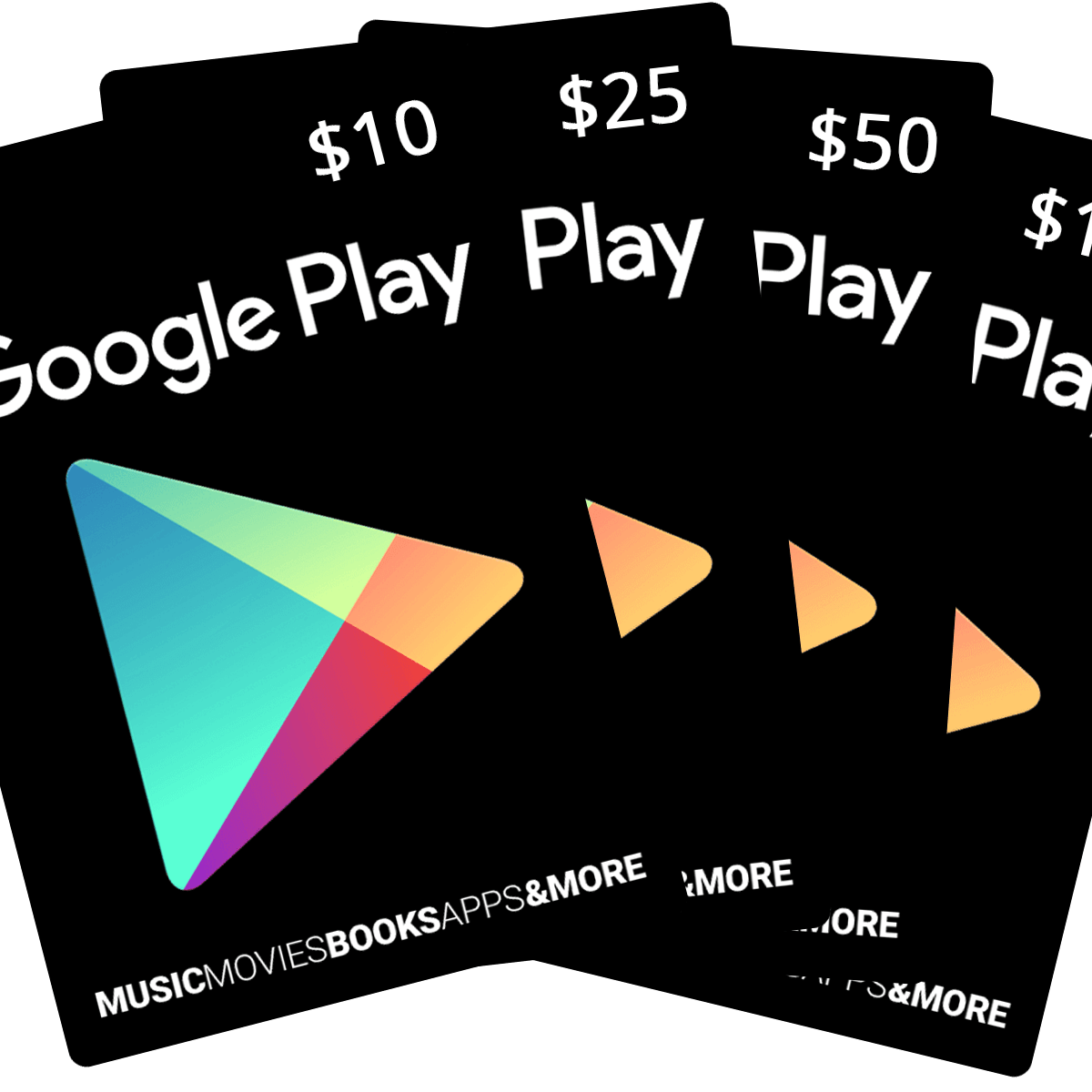 Google Play Store Usa Gift Cards