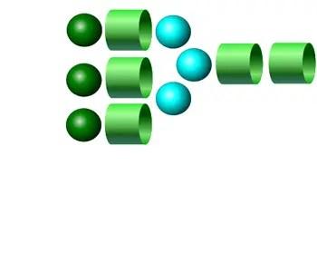 NA3 2-AB glycan