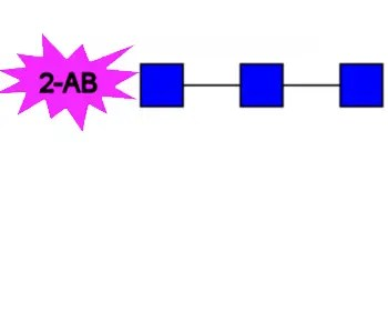 2-AB labeled chitotriose