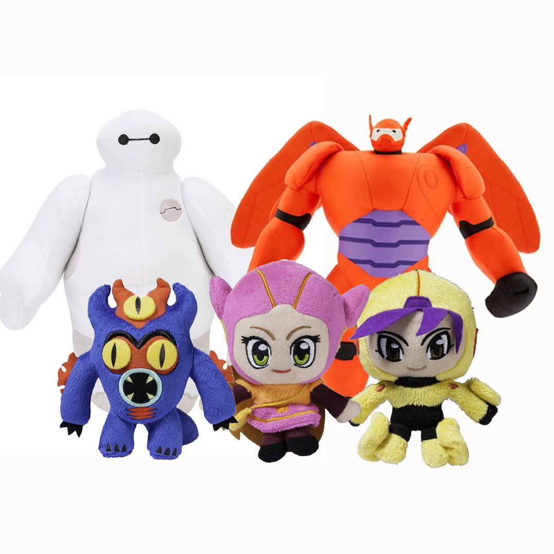 Big Hero 6 Baymax Collection Plush Toys Disney Plush Toy Manufacturer In China Wholesales Disney