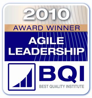 Agile Leadership Award 2010 Winner