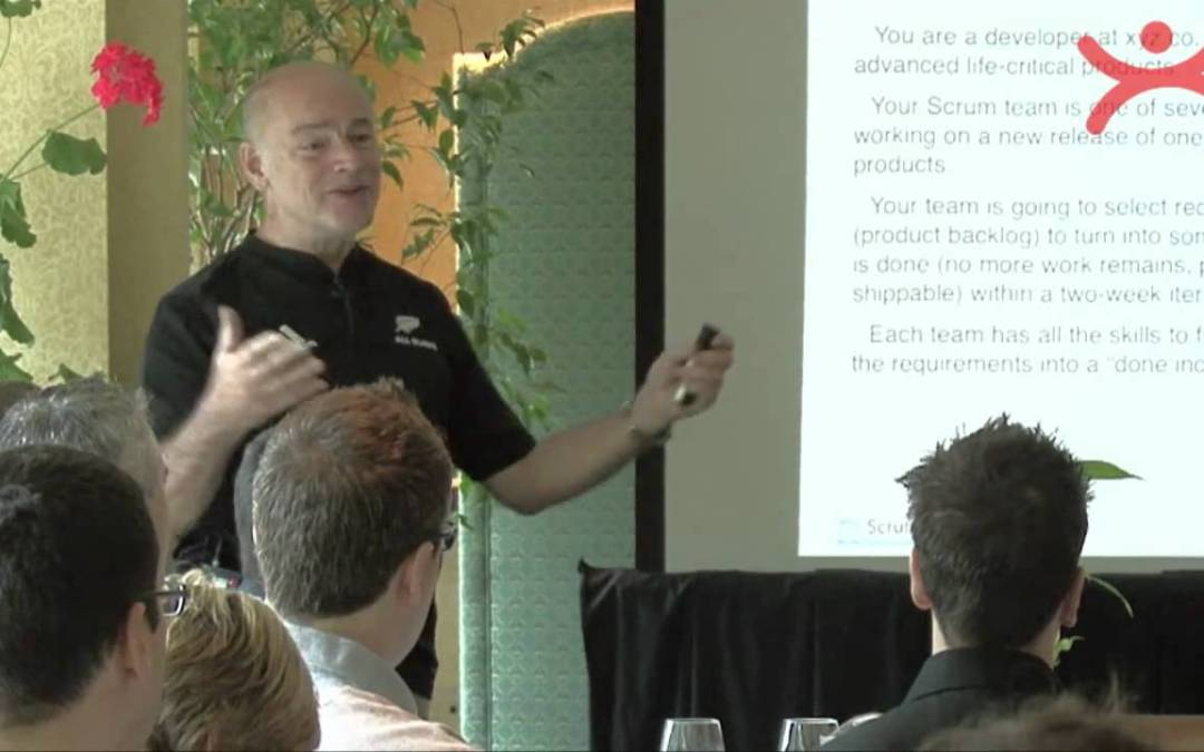 Ken Schwaber mówi o  Definicji DONE