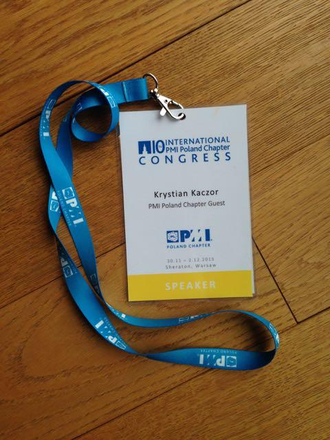 PMowie a sprawa Agile, czyli o wystąpieniu na kongresie PMI Poland Chapter