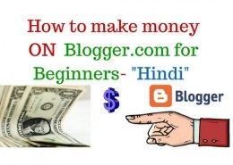 How to earn money through blog?