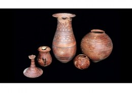 When was pottery developed in the Indus Valley?
