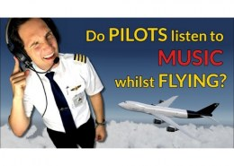 Can pilot ever play music in the cockpit?