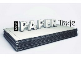 Why is paper trading used in stock markets?