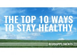 What are the top 10 ways to stay healthy?