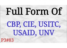 What is full form of CBP?