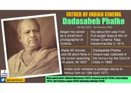 who is the father of indian movies ???