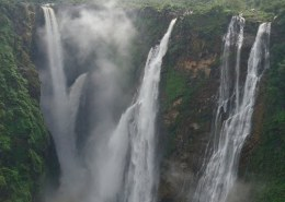 Which is the longest jog fall in India