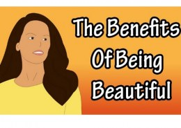 What are some of the drawbacks of being beautiful?
