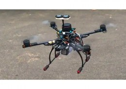 Which institute students have developed 'smart agricopter' to eliminate manual spraying of pesticides in agricultural fields?