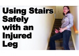 How long will it take to climb stairs after ACL surgery and running?