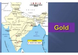 The principal copper deposits of India lie in which places?