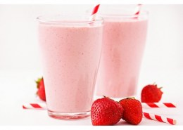 How to make Strawberry milkshake?