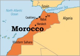 What is the capital of Morocco?