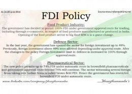 What is FDI policy?