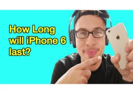 How long will an iPhone 6 last?