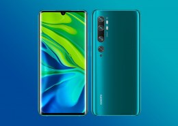 What specifications are featured in the new mi note 10?