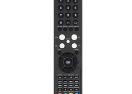 What is the name of the waves used by the common TV remote control used in household ?