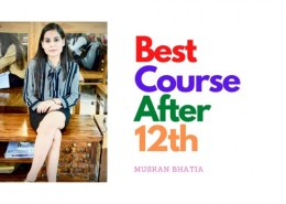 Which is the best course after 12th pass for a girl?