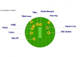 What is mid wicket in cricket?