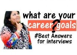 What are your goals in career?