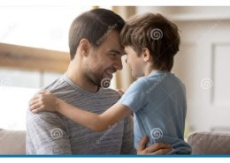 How does a father show love?