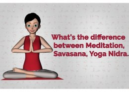 What is the difference between yoga nidra and Savasana?