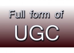 What is meant by UGC?