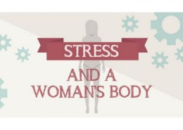 What can stress do to a woman's body?