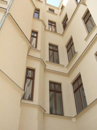 Detail Struktur Hoffassade