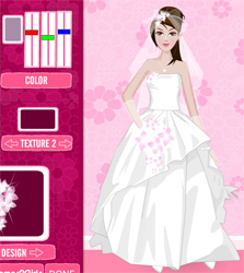 The Wedding Game Erfly Princess Bride Dresses Free Online Play Games