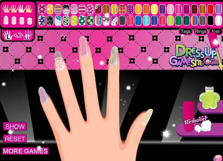 Monster High Draculaura S Manicure Game