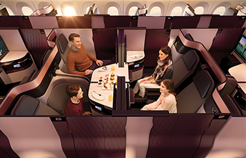 The award was given to Qatar Airways for its commitment to the highest quality passenger experience, as witnessed recently with the reveal of the new Business Class product, Qsuite