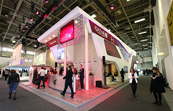 Qatar Airways launched a brand new stand at the ITB Exhibition 2016