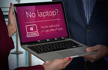 Qatar Airways is the only airline to offer passengers a replacement laptop on all flights to the US in response to the Electronics Ban