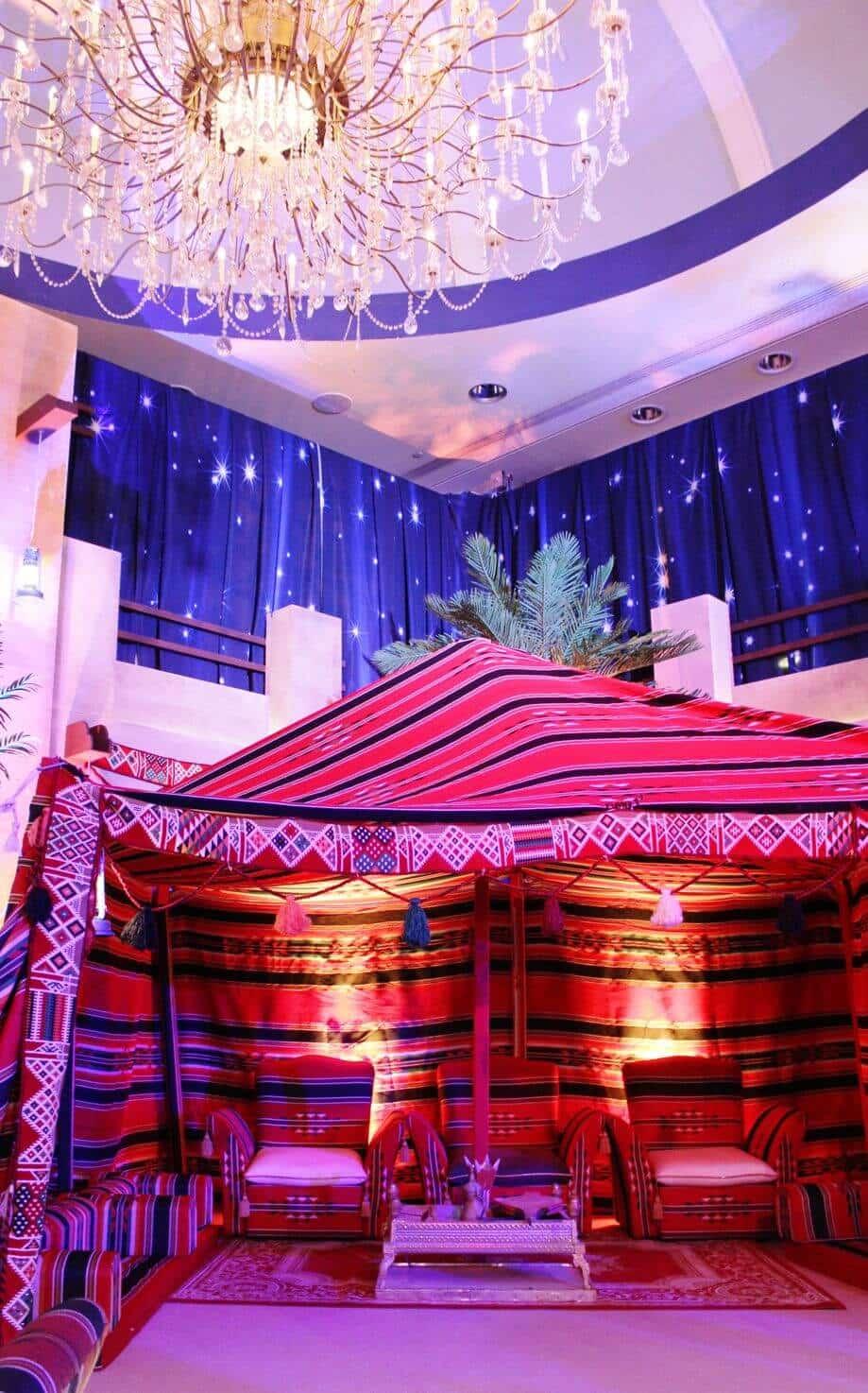 Ritz Carlton Ramadan Tents 2015 Qatar Eating