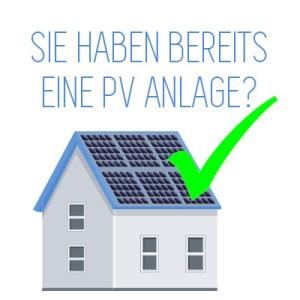 Sie haben eine Photovoltaikanlage