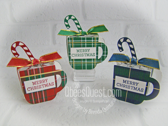 Cup of Christmas Hershey's Nugget Holders