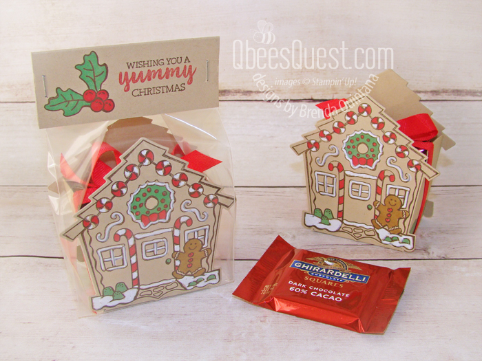 Yummy Christmas Ghirardelli Holder