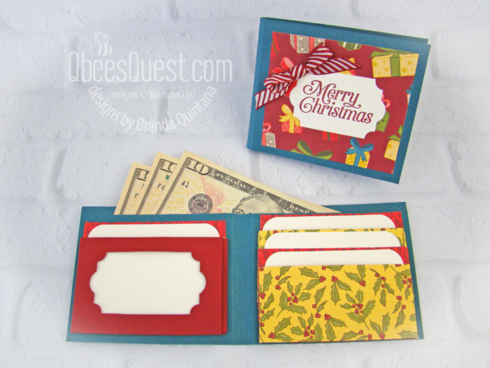 Christmas Gift Card Wallet
