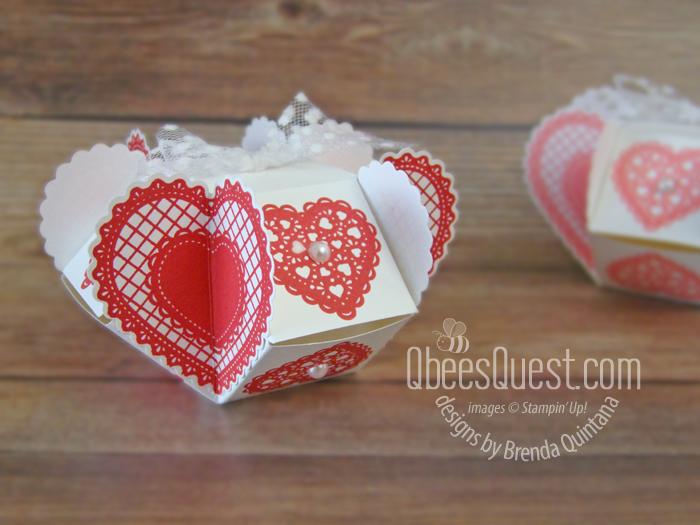 Clam Shell Heart Box