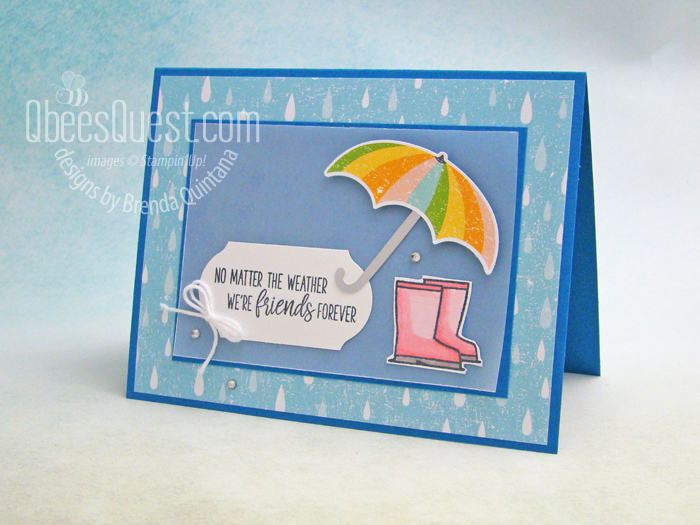 Under My Umbrella Card