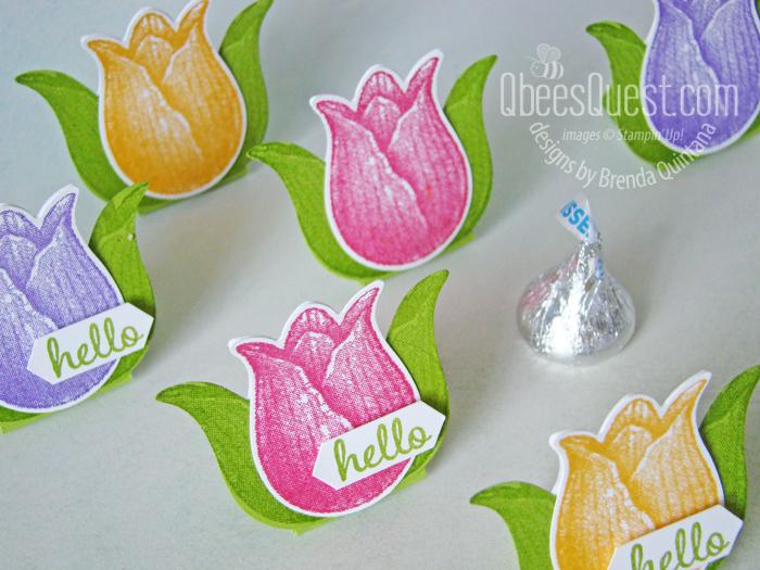 Tulip Hershey's Kiss Tents