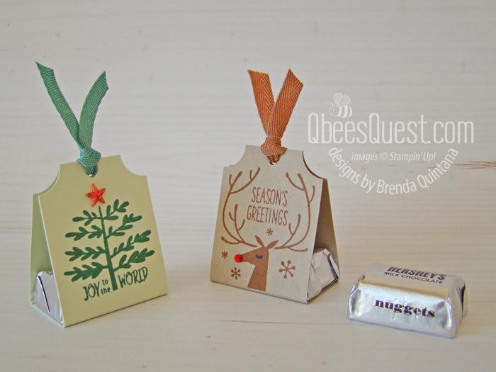 Christmas Hershey's Nugget Holders