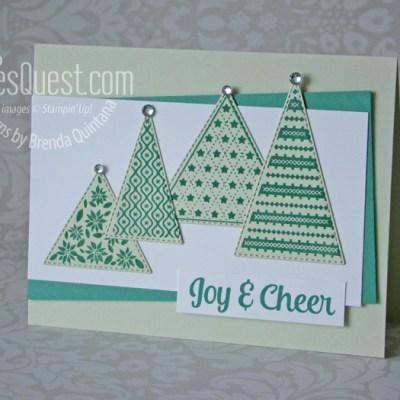Monochromatic Tree Angle Card