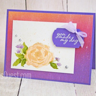 So Much Love Watercolor Card