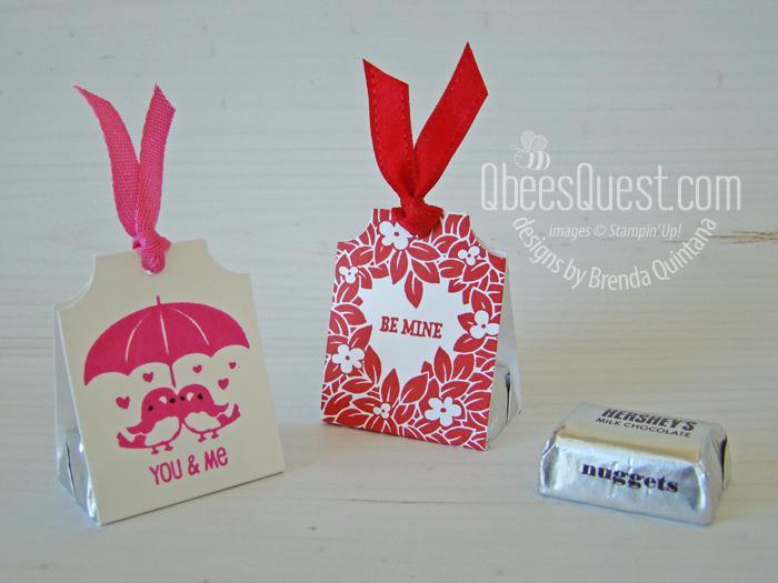 Valentine Hershey's Nugget Holders